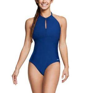 NWOT Speedo Halter Bathing Suit